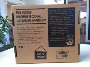 Cornish Ketchup box